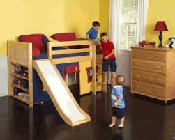 kids bed design youth kid loft bed with slide in bunk for sale