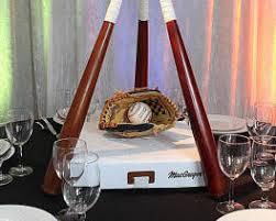 baseball themed wedding sports themed weddings sports themed wedding reception centerpieces