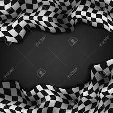 Checkered Flag Eps Checkered Flag And Space For Your Text Inside Background Royalty