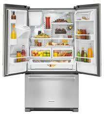 kitchenaid cabinet depth refrigerator krfc400ess kitchenaid counter depth french door refrigerator