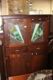 leadlight kitchen cabinets lot vintage deco oak kitchen cabinet