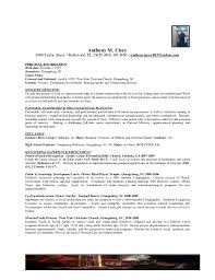 Pastoral Resume Samples by Pastoral Associate Cover Letter