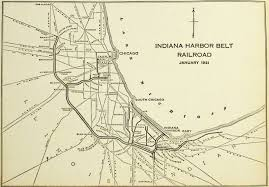 Illinois Railroad Map by Railroad Maps U0026 Timetables The Dome