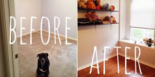 how we replaced our carpeted floor for laminate and nursery