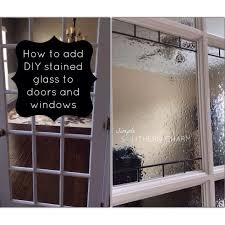 Privacy For Windows Solutions Designs Diy Stained Glass For Privacy On Doors And Windows Hometalk
