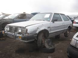 subaru loyale lifted junkyard find 1983 honda accord u2014 no wait subaru gl hatchback