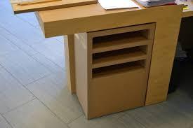 meuble tiroir sous bureau meuble rangement de bureau lepolyglotte