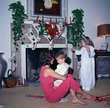st c72 9 62 first lady jacqueline kennedy with her children on