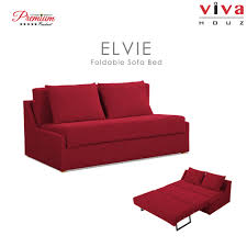 Foldable Sofa Viva Houz Elvie Multifunctional Sofa Bed 2 Seater Sofa Bed