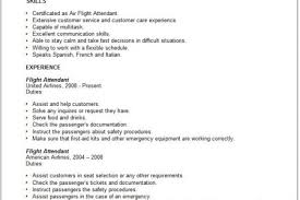 Flight Attendant Resume Samples by Flight Attendant Resume For Communication Reentrycorps