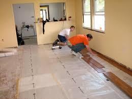 floor laying a wooden floor on floor regarding installing hardwood