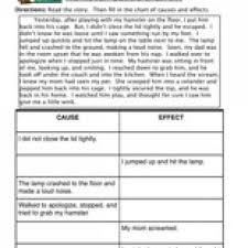 cause and effect 5th grade worksheet worksheets