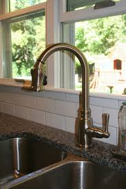 iron danze opulence kitchen faucet deck mount single handle pull