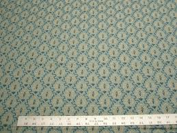 Blue Upholstery Fabric 1 3 8 Yards Blue Small Pattern Upholstery Fabric