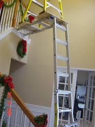 painting high ceiling above stairs integralbook com