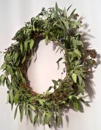 herb wreath make a culinary herb wreath janalyn voigt
