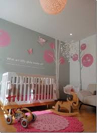 Pink And Grey Nursery Decor Baby S Room Pink Gray Just Paint It