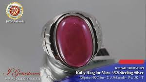 rings for men in pakistan ruby ring for men wealth power health