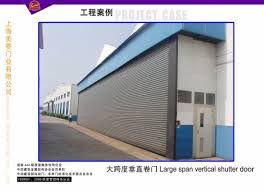 Overhead Roll Up Door China Automatic Aluminum Alloy Or Metal Motorized Overhead Roller