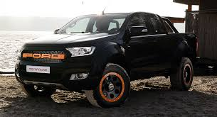 ford ranger image ford ranger truck muscled up by mr car design