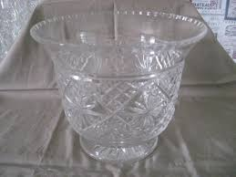 Antique Lead Crystal Vase Large Vintage Lead Crystal Vase Bowl In Liverpool Merseyside
