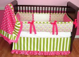 Pink And Green Crib Bedding Pink And Green Baby Blankets Tagitfor Me
