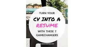 Turn Resume Into Cv Professional Archives Bluegrass Bones