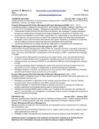 Pmo Cv Resume Sample by Pmo And It Portfolio Manager Resume Jeffrey Mansfield 26 Oct2015