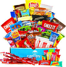 halloween gifts for college students amazon com canopy snacks ultimate snacks variety box chips