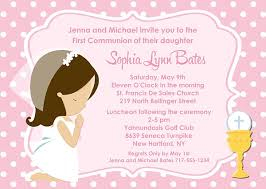 communion invitations for girl holy communion girl invitations religious