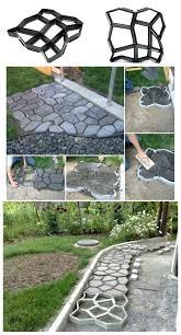 garden molds for concrete concrete interlock paver diy molds for