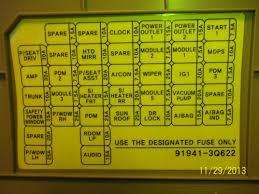 nissan frontier fuse box diagram wiring schematic nissan wiring