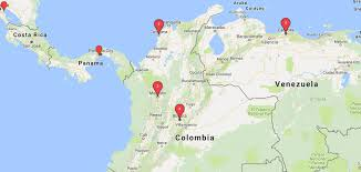 Colombian Map Colombia Video Production 90 Seconds