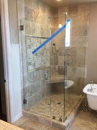 heavy glass shower doors tempered heavy glass j n mirror and glass co