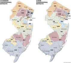 Map Of Hudson County Nj Congressional Redistricting Leaves U S Rep Rothman In Republican