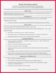 Best 20 Good Resume Examples by Resume Examples Objective Career Objective In Resume Examples