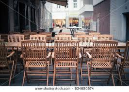 European Bistro Chair Sidewalk Cafe Europe Stock Images Royalty Free Images U0026 Vectors