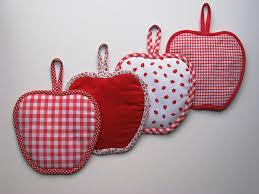 couture accessoire cuisine tutoriel petites maniques en forme de pomme maniques forme de