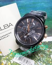 Jam Tangan Alba Pria jam tangan alba pria am3079x1 original trans market arloji