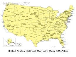 us map by states and cities united states map powerpoint template 6323 free powerpoint