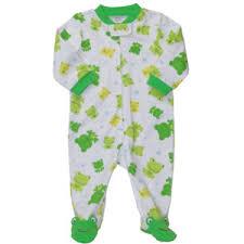 frog print cotton sleep play baby boy pajamas polyvore