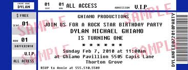 concert tickets template 26 cool concert ticket template examples
