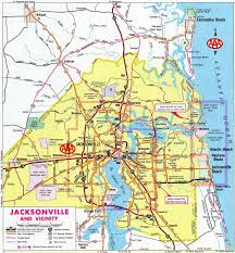 Map Of Jacksonville Florida by Florida Aaroads Florida 202 J Turner Butler Boulevard
