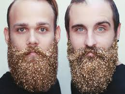 beard ornaments what is glitter beard and how to make it business insider