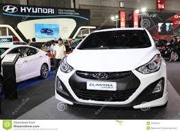 hyundai car models set of hyundai car models on display editorial photo image 29921791