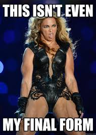 Muscle Woman Meme - unflattering beyonce know your meme