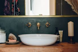 What Are Bathroom Sinks Made Of Bathroom Of The Week A Moody Tadelakt Bath In London Remodelista