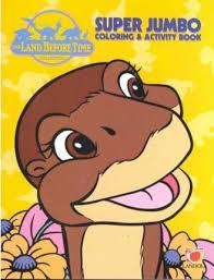 land super jumbo coloring activity book