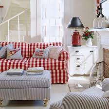 Best Red White And Blue Decorating Images On Pinterest July - Red and blue living room decor