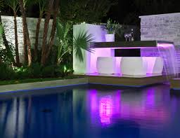 Cool Swimming Pool Ideas by Interesting Swimming Pool With Rectangular Fountain Design